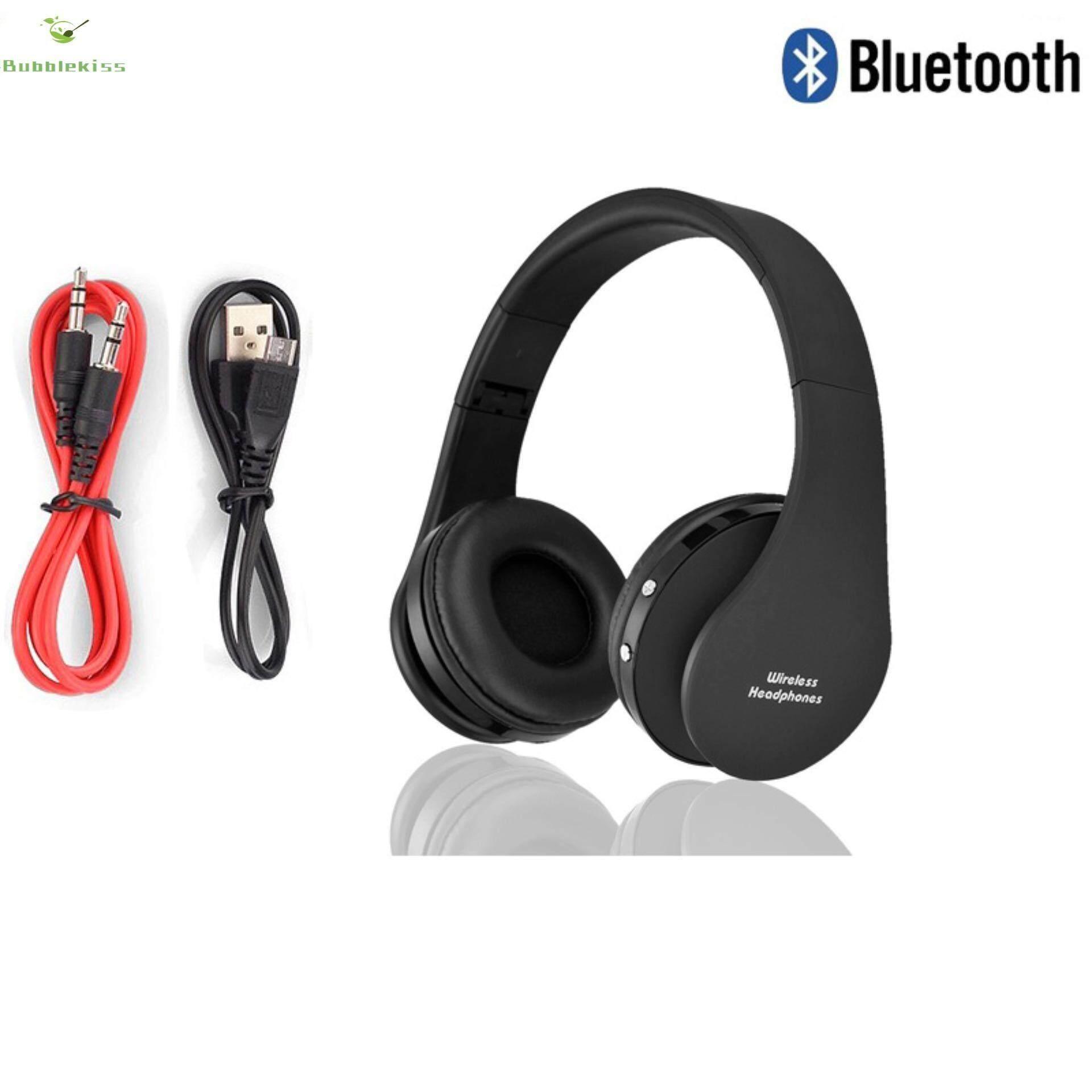 NX-8252 Musik Stereo Headphone S Nirkabel Headphone Siaga Headset Yang Nyaman