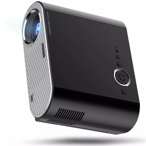 Gp90 Portable Led Projector 3200lms Hd Projector Lcd Projector Support 1080p Home Theater By Glimmer