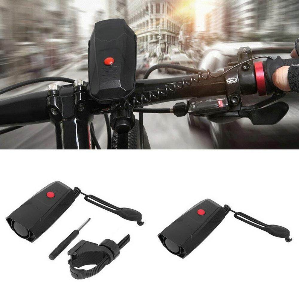 Sunyoo-5 Suara 110dB Sepeda Bel Listrik Bell Handlebar Suara Cincin Alarm Klakson Speaker-