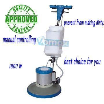 VOMAX 1800W Multifunctional Manual Controlling Long Lasting Floor Burnisher BF522