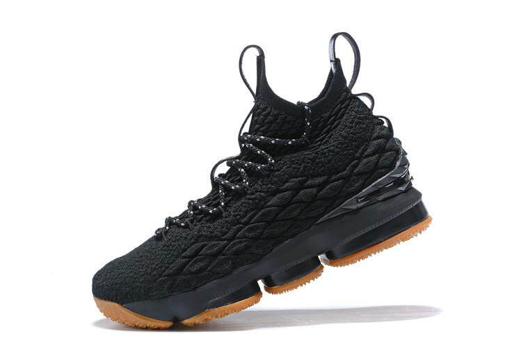 ... Shoe Adult Classic EU40 – EU45 Offical LeBron Raymone James Durable  Comfortable 2018 Newest For Male Classic LeBron XV LeBron 15 EP Mid Top  Black Brown 6edd9e4a95