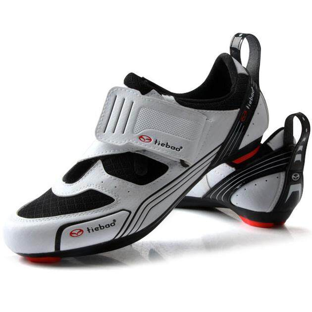 9dd8ebf75f2 Outdoor Triathlon Cycling Shoes Fiberglass-Nylon Outsole Bicycle Shoes  LOOK-KEO Cleat Compatible Bike
