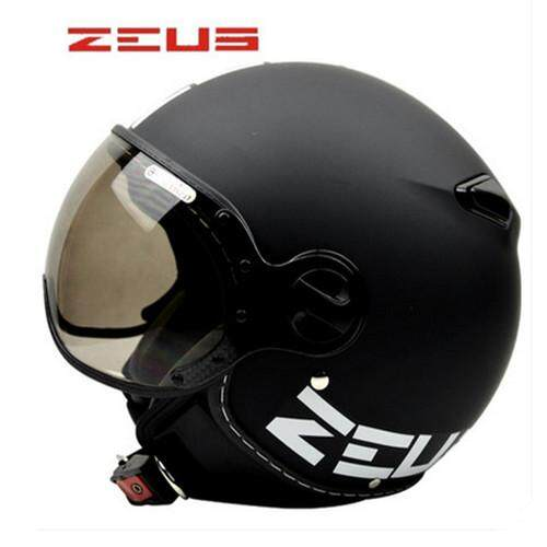 Motorcycle Scooter 3/4 Face Helmet Vintage Capacete For Harley Prince Helmet ZEUS 210C /XL