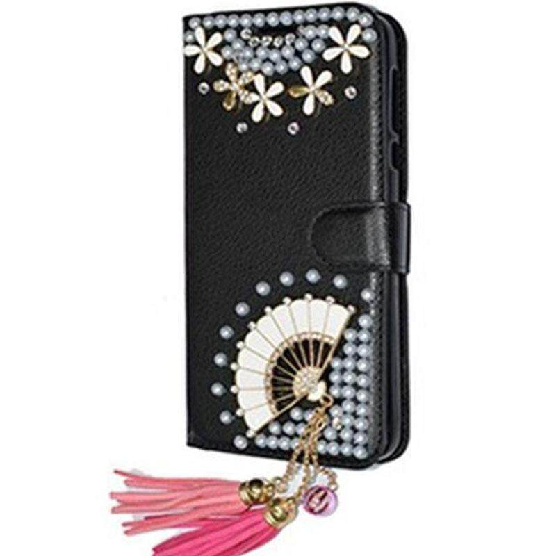 Diamond Case For Oppo F7 Youth A73S OPPO Realme 1 Case Cover Rhinestone PU Leather Back Cover Phone Case For Oppo F7 Youth OPPO Realme 1