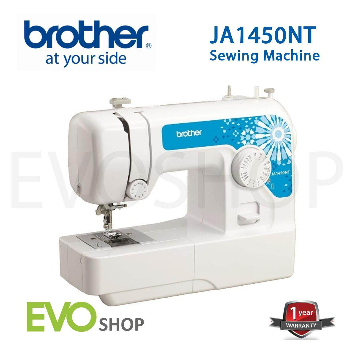 Yang Paling Murah Brother Sewing Machine As2730s Free Extension Ja1450nt Portable Mesin Jahit Ja 1450nt 14 Built In Stitches With Threading System