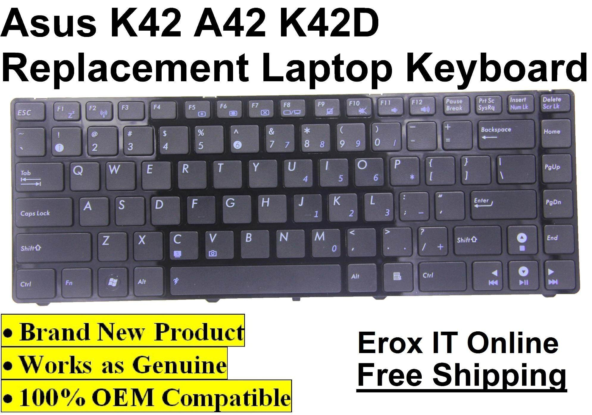 Replacement Keyboard for Asus A43S Series /Asus K42 Keyboard Malaysia