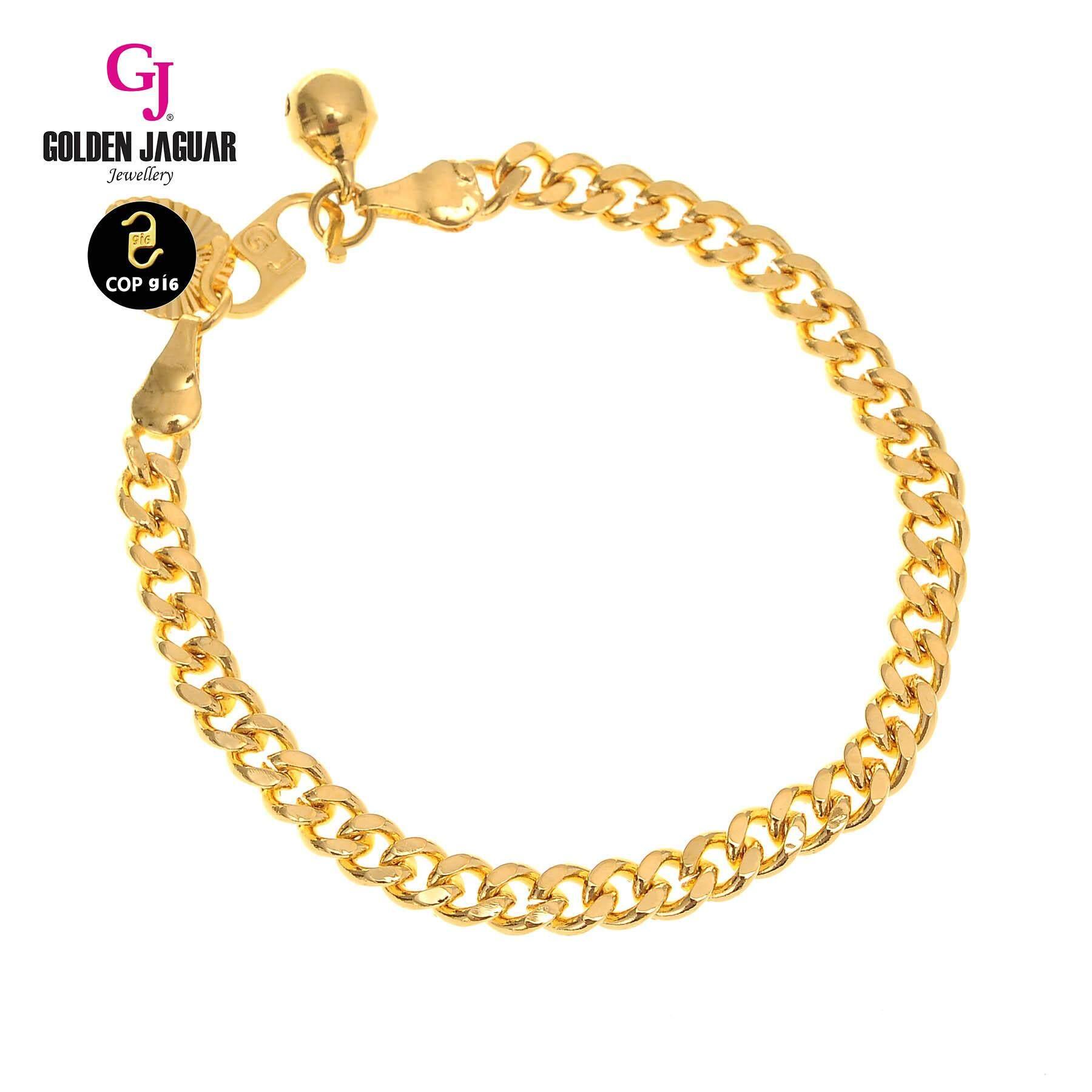 GJ Jewellery Emas Korea Bracelet - Papan  5.0(2560505)/Gold Plated