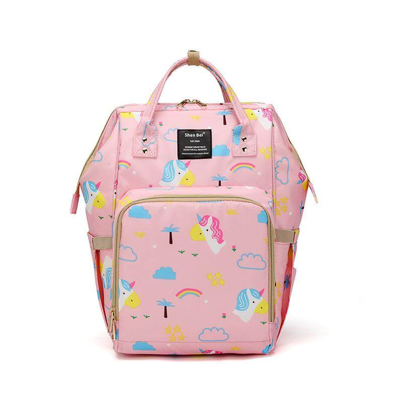 Unisex Backpack Mummy Bag Maternity Nappy Diaper Bag Large Capacity Baby Bag