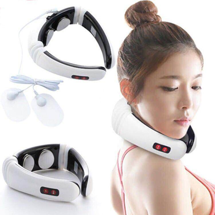 Intelligent cervical physiotherapy massage instrument electric multi-function neck and neck massage physiotherapy instrument