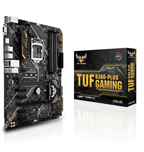 ASUS TUF B360-PLUS GAMING LGA1151 (300 Series) DDR4 HDMI VGA M.2 ATX Motherboard - intl
