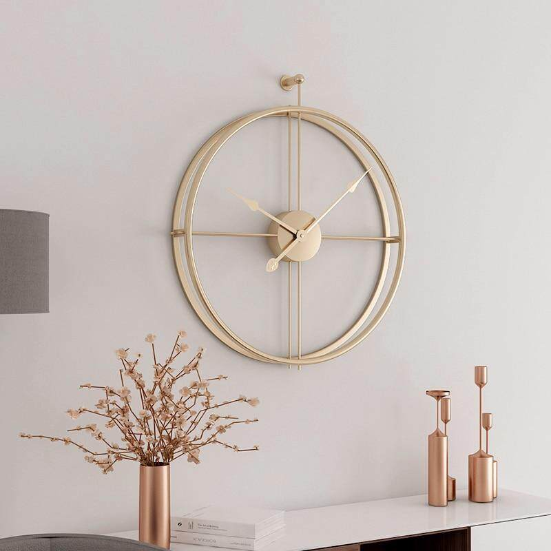 Large Silent Wall Clock Modern Design Clocks for Home Decor Office European Style Hanging Wall Watch Clocks