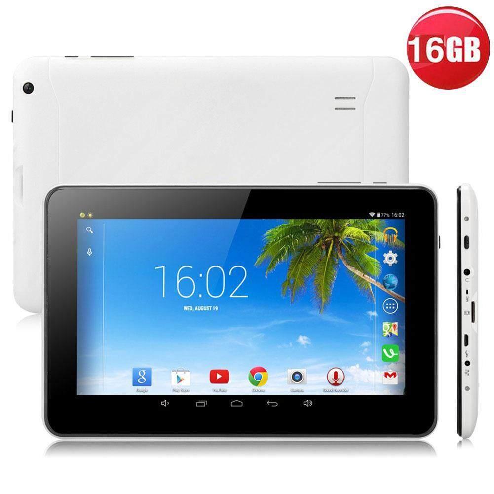 N98 9 Inch Android 4.4 Komputer Tablet Allwinner A33 Quad Core 1 Gb + 16 Gb Uni Eropa Plug Putih By Angel Store.