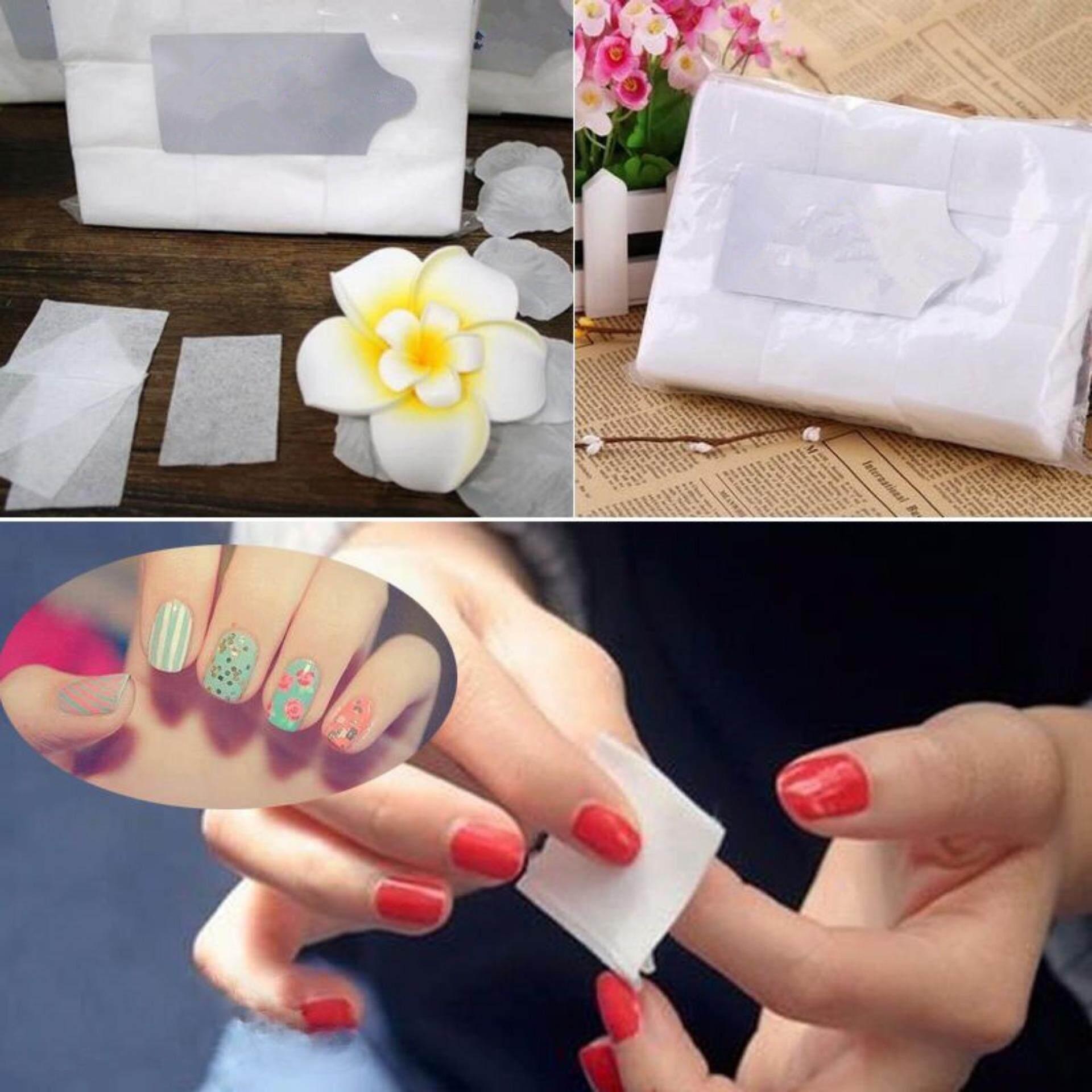 Elife 900 Cotton Nail Wipes Flat Pack Nail UV Gel Cleaner Pads High Quality Silcare UK Philippines