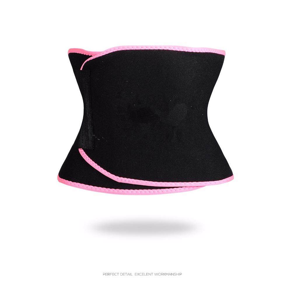 Rubik Unisex Sport Body-Shaping Bellyband Pakaian Dalam Seksi Menyerap Keringat Korset Perut Belt-Intl By Magic Cube Express.