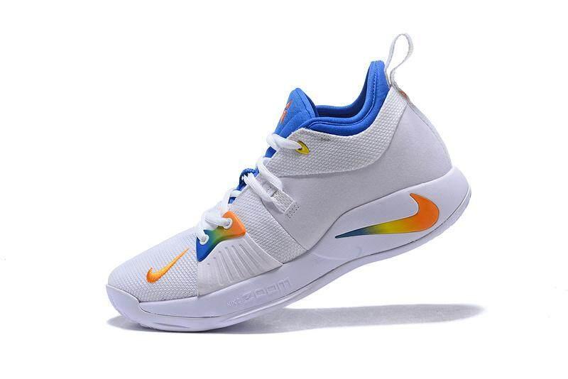 Putih Biru EUR 40 Mens NBA Paul George Sneakers PG 2 Sepatu Basket Fashion  Kualitas Tinggi 75140104ad