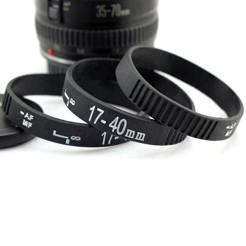 Sys New Fashion Silicone Black Dslr Camera Lens Band Wristband Bracelet Unisex By Saiyousun.