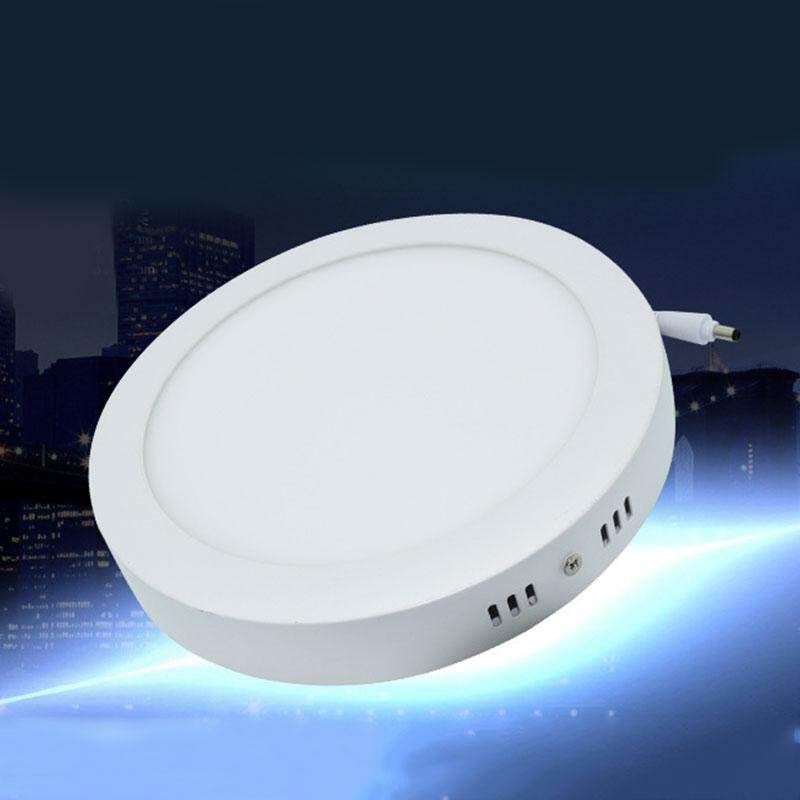 Home Round 18W LED White Body Surface Mount Ceiling Panel Down Light Lamps 6500K - intl