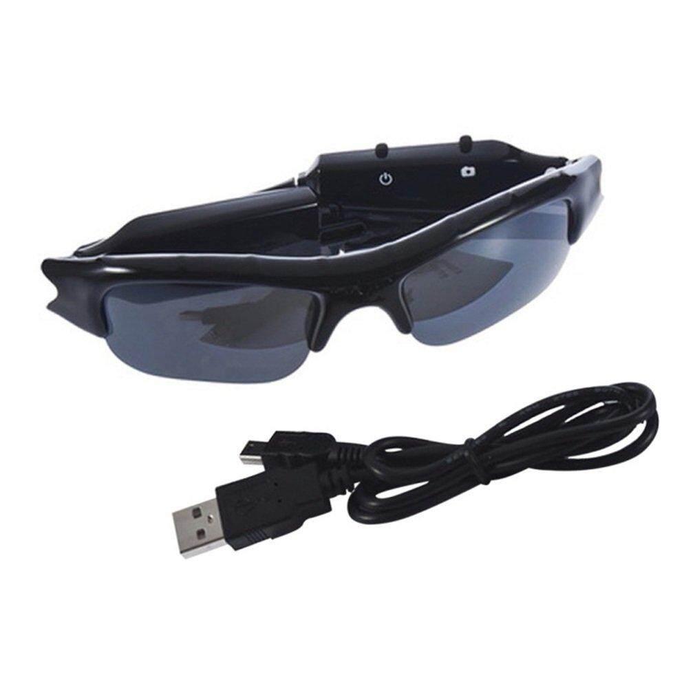 Hình ảnh Sunglasses TF Mini DVR 640 x 480 Camera Digital Audio Video Recorder - intl