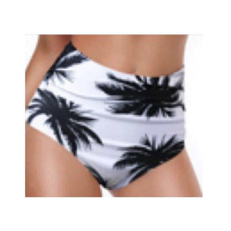 77aa31b770 High Waist Bikini Panties Bottoms Separate Women Swimsuit Shorts Printed Bathing  Suit Underwear Plus Size Women