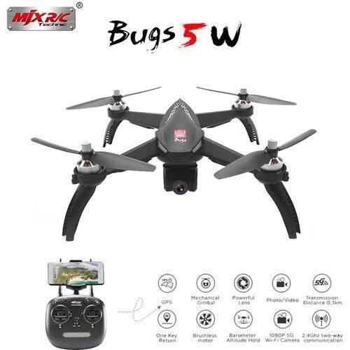 Mjx Bugs 5w B5w 1080p 5g Wifi Fpv Camera Gps Rc Drone Quadcopter Rc Drone By Aokaila.
