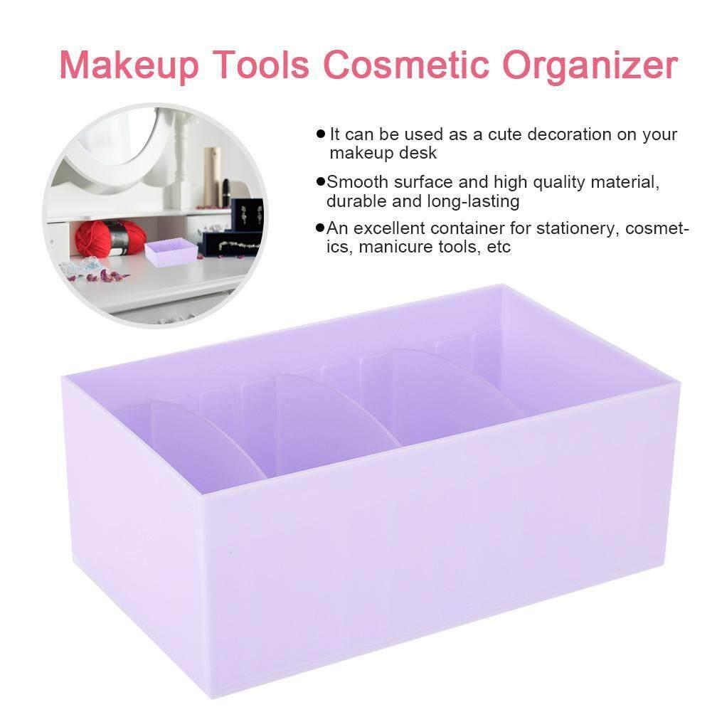 5 Warna 4 Grid Peralatan Make Up Kosmetik Seni Kuku & Alat Manikur Kotak Penyimpanan Kotak
