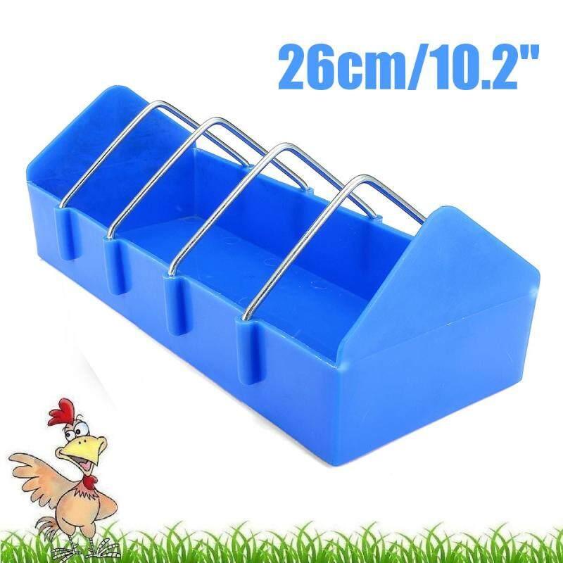 10.2  gà nhựa chim bồ câu gia cầm trung chuyển uống Lồng Chim Chim waterfow thức ăn cup-