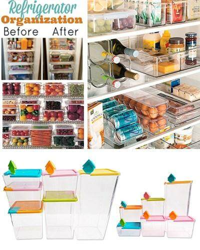 6 Pcs Set Multipurpose Plastic Stackable & Space-Savvy Pocket Block Spice & Food Storage Box Container