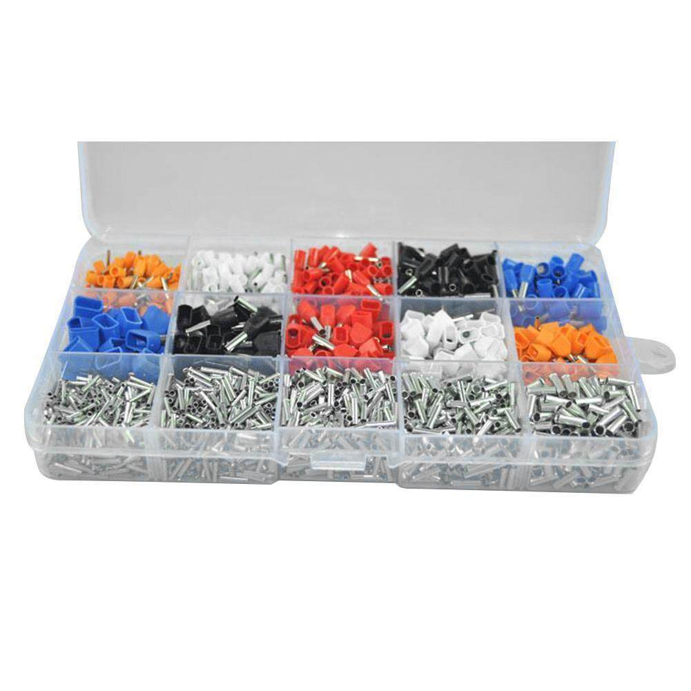 Features Abh 2340 Pcs Set Mixed 15 Models Dual Bootlace Ferrule Kit ...
