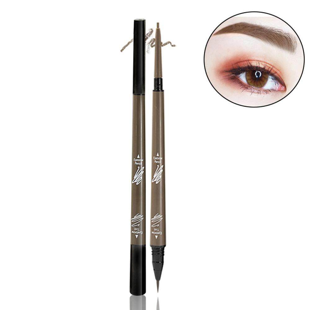 Aolvo Tattoo Eyebrow Pen, Liquid Eyebrow Pencil With Double Head Long-lasting Waterproof Brow Gel And Fill Brow Marker For Eyes Makeup 1 Pack Philippines