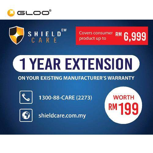 Shield Care - 1 Year Extended Warranty (Coverage up to RM6,999)