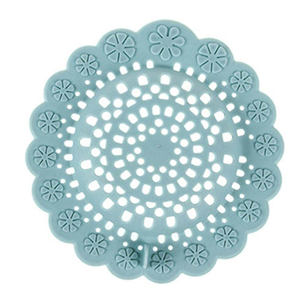 Flower Type Silicone Hair Stopper Catchers Sink Strainer Floor Drain Filter Shower Drain Covers for Bathroom