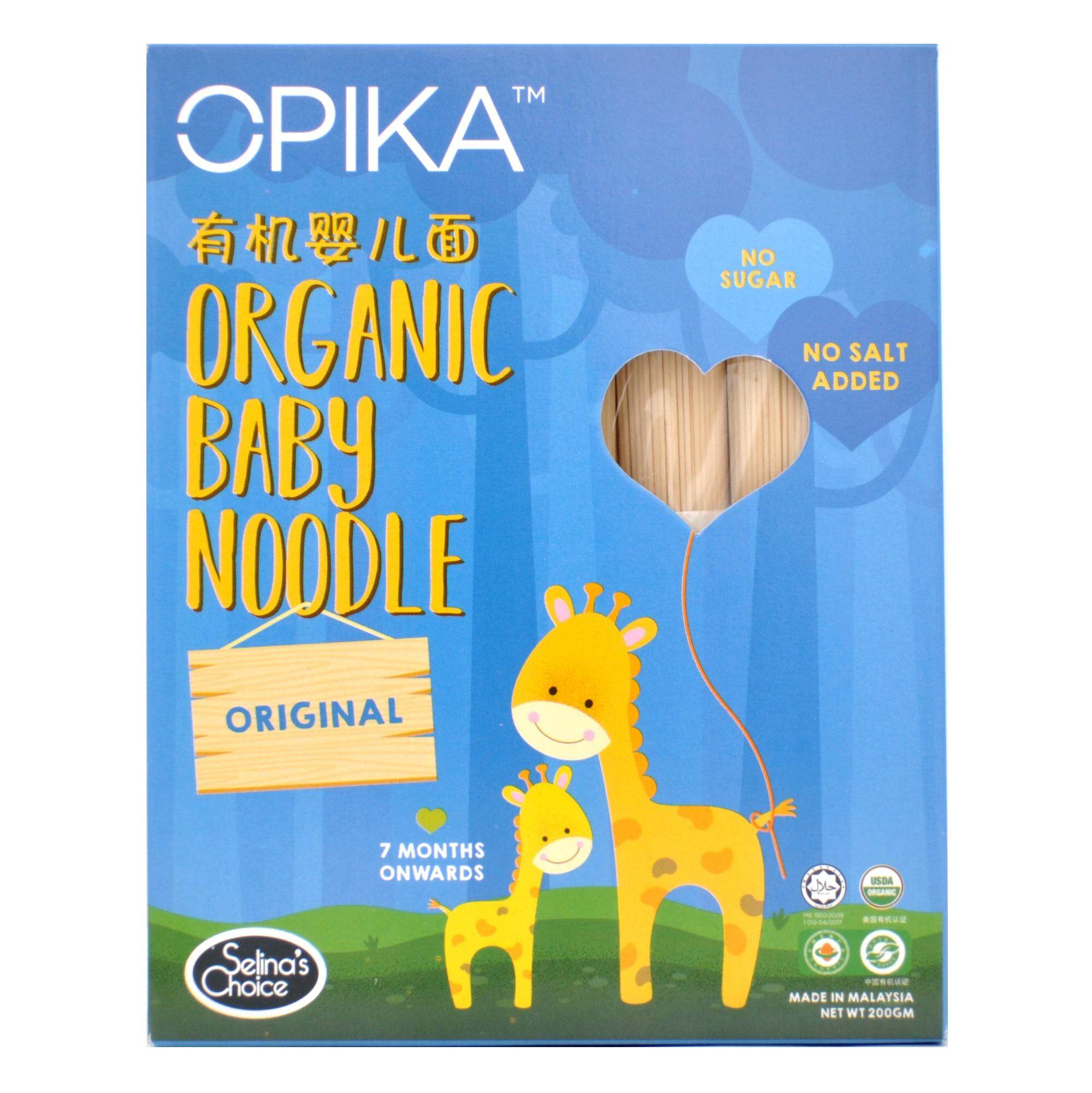 OPIKA Organic Baby Noodle, Original - 7 months onwards, 200gm