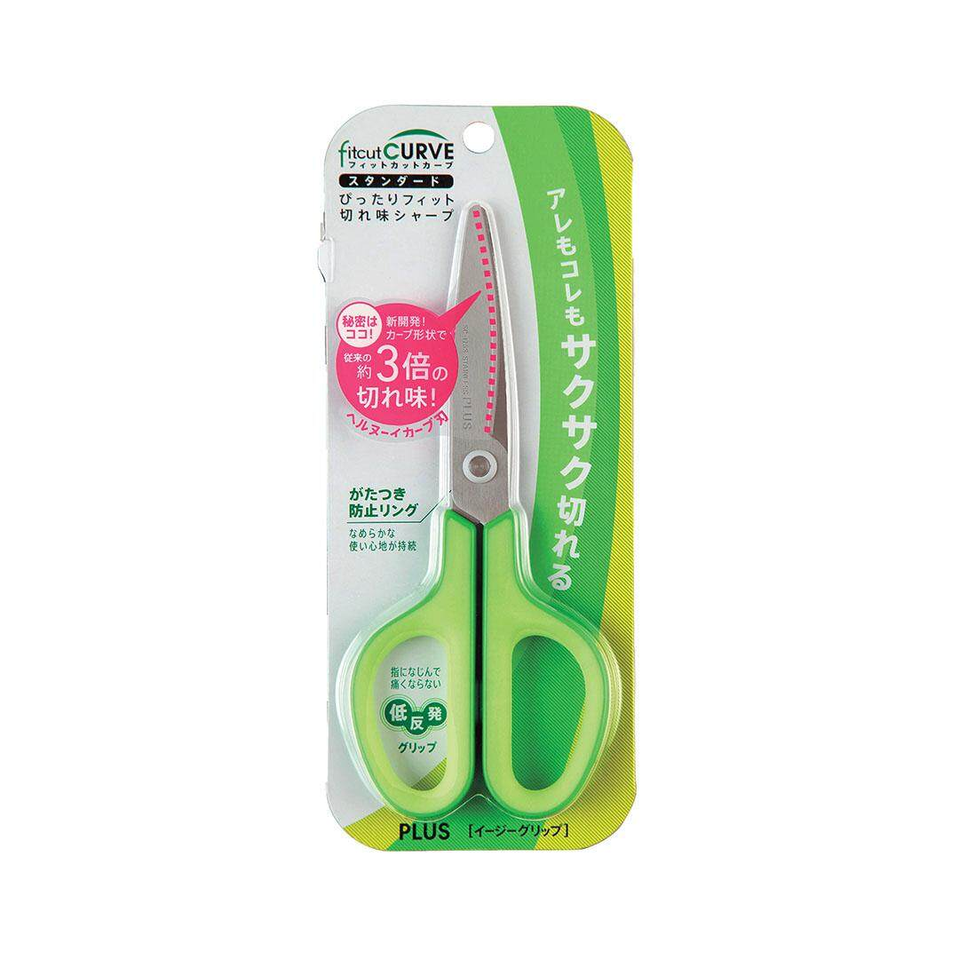 FIT CUT SCISSORS (GREEN) FOC GLUE TAPE (TG 810SP)