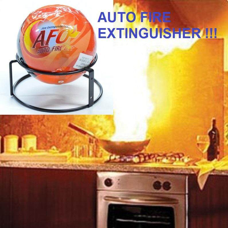 AUTO fire extinguisher BALL (New Safety Tech)