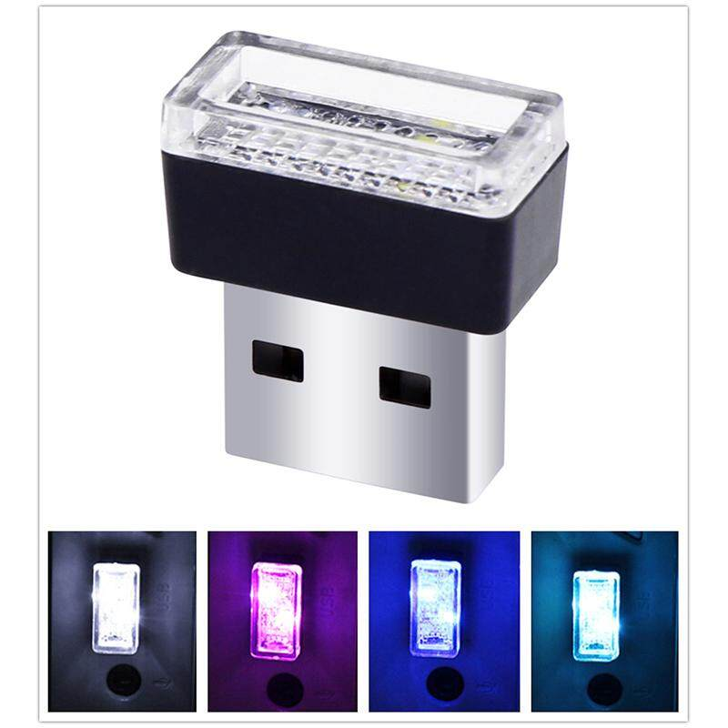 OS USB LED Car Interior Atmosphere Light Feet Lamp Illumination Decoration Light Power:0.1W Singapore