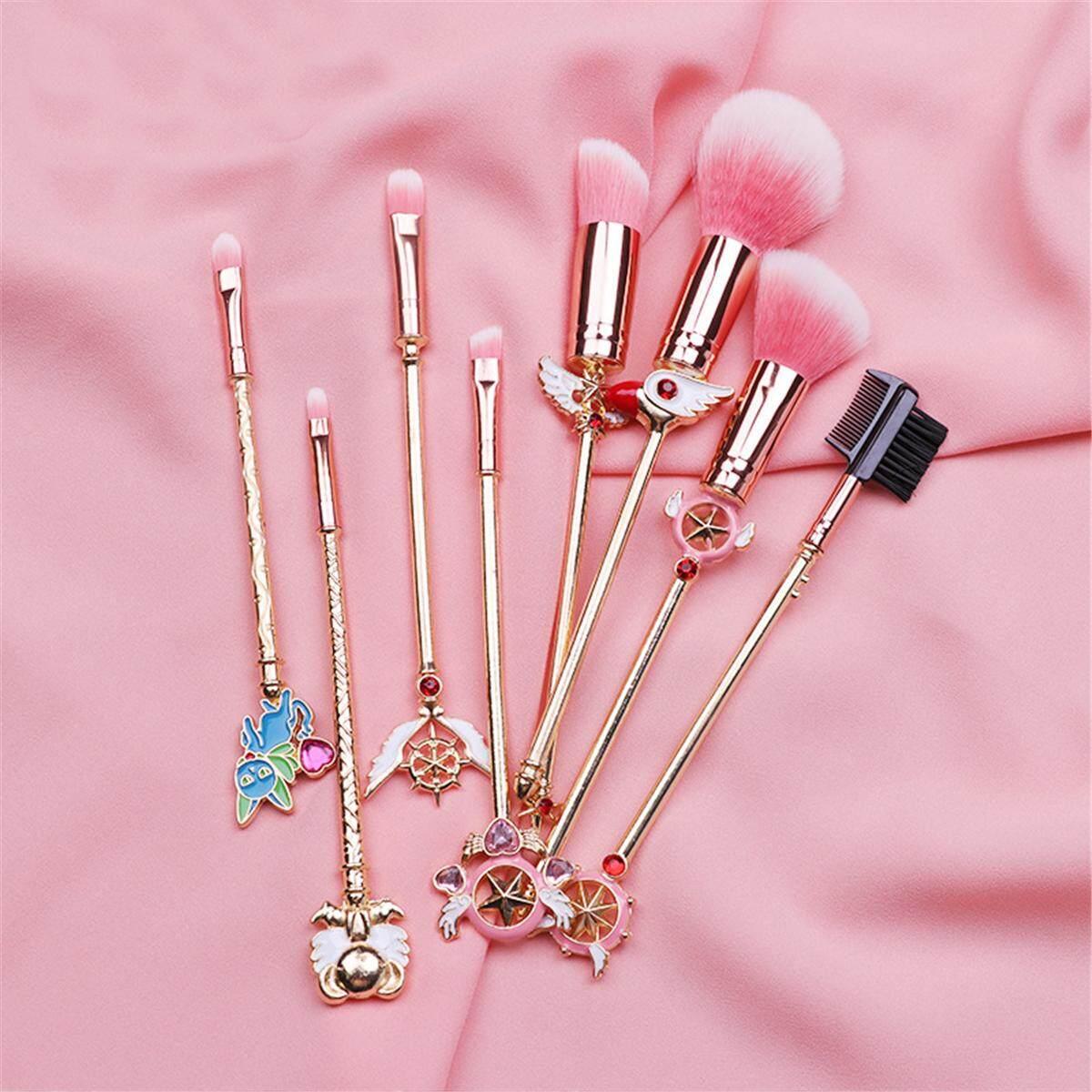 cardcaptor card captor sakura clear cards makeup Cosmetic Foundation brush wands
