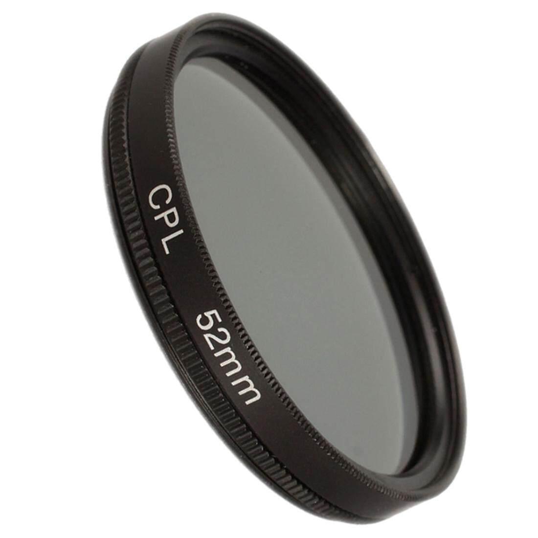 52mm circular polarising CPL filter for canon 650D 700D nikon D3100 D3200 D3300