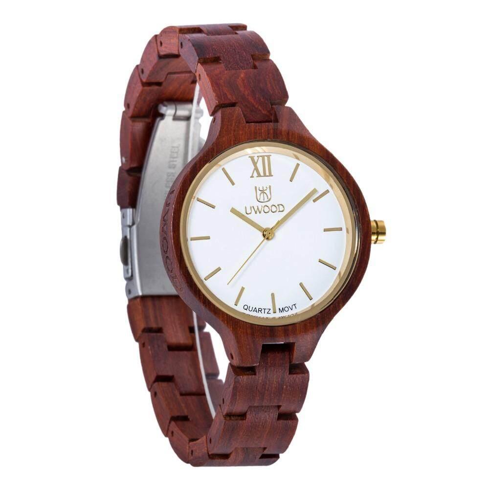 Hot Fashion UWOOD Brand Watches New Imitation Wooden Watch Women Natural Vintage Quartz Wood Dress Watch