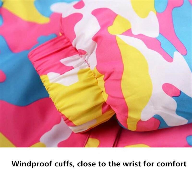Mt Anak Laki-Laki/perempuan Setelan Ski Celana Tahan Air + Setelan Jaket Olahraga Musim Dingin Tebal Pakaian By Mink Trade.