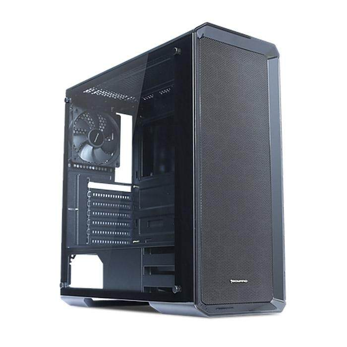 Tecware Neo Dual ATX Case Tempered Glass Black Malaysia