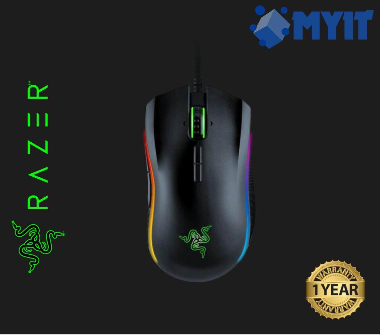 Razer Mamba Tournament Edition Chroma Gaming Mouse Rz01 01370100 5g Wireless 16000dpi 9 Button Rgb R3a1