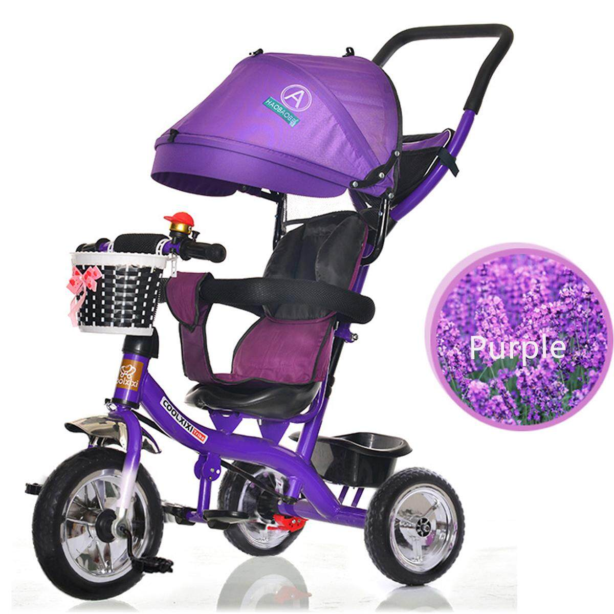 Smart Design 4 In 1 Children Tricycle Kids Trikes 3 Wheel Bike With Rotating Seat By Teamwin.