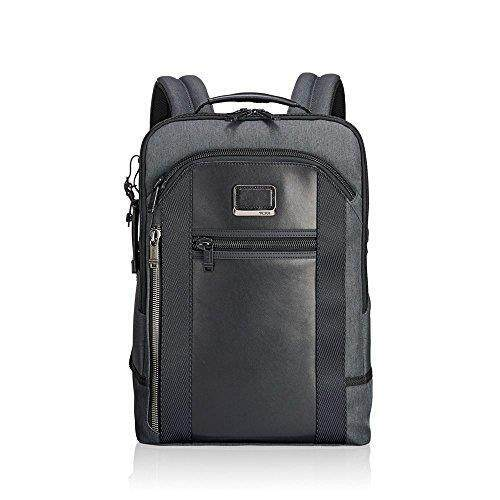 Tumi Men's Alpha Bravo Davis Backpack, Anthracite - intl