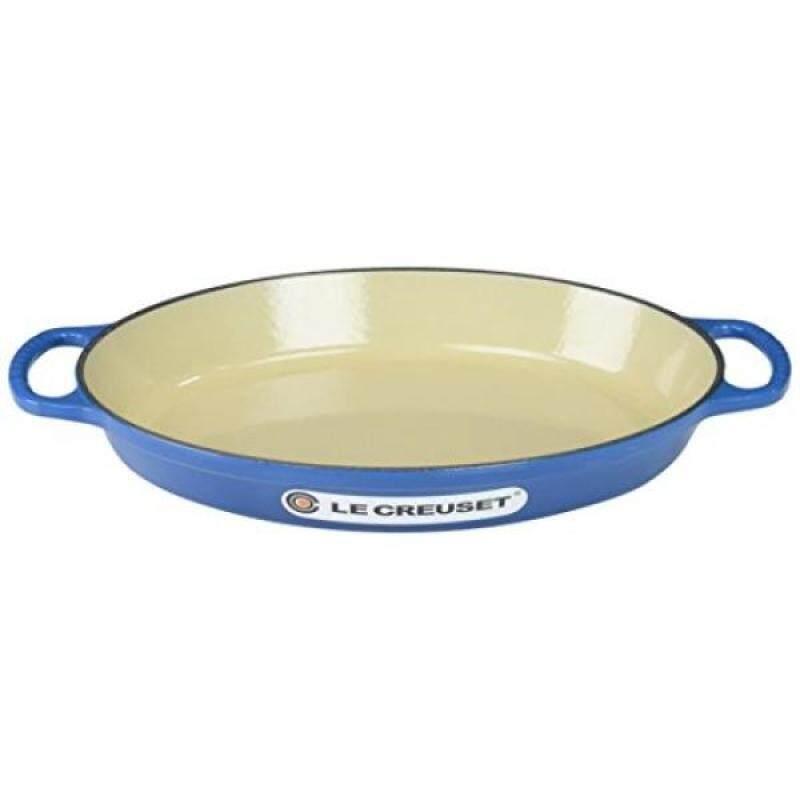 Bakeware Casseroles Le Creuset Enamel Cast Iron Signature Oval Baker, 2.25 quart, Marseille - intl Singapore