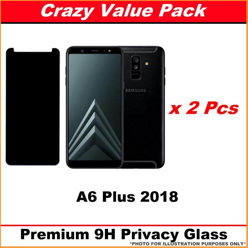 Features Samsung Galaxy A6 A6 Plus Anti Spy Privacy Tempered Glass