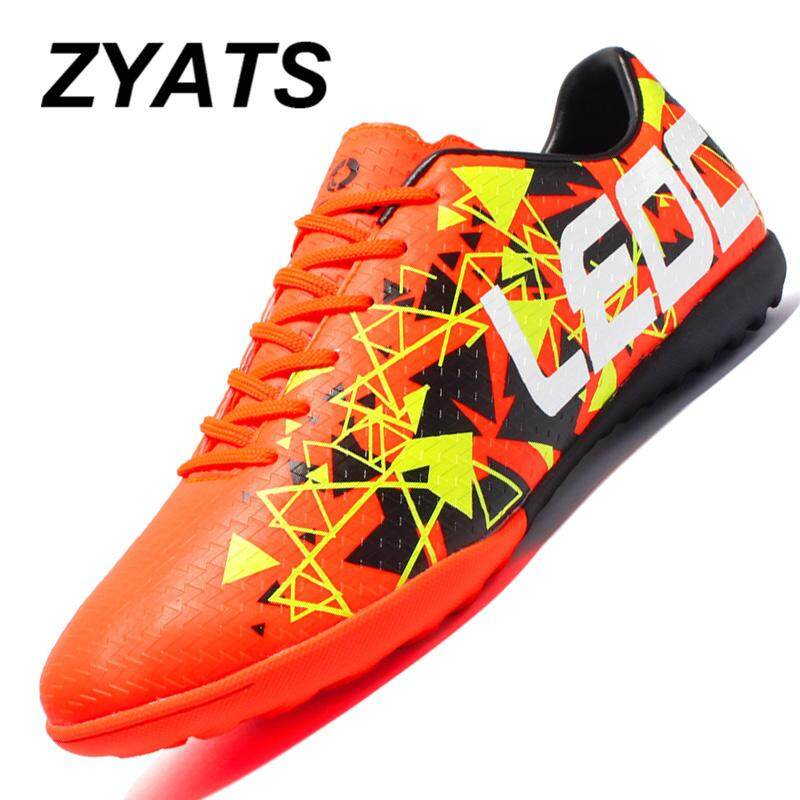 a6fbe8ba7 ZYATS 2018 New Indoor Lawn Training Futsal Shoes Non - Slip Wear -  Resistant Outdoor Sports