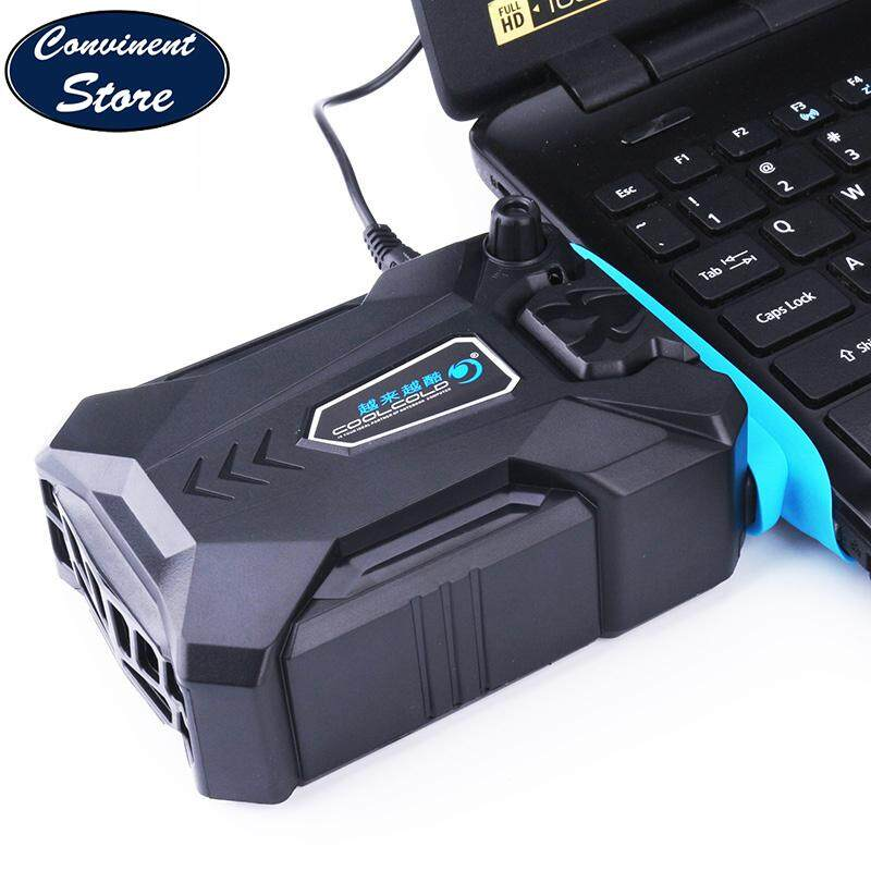 ✅【3 Size Wind Sleeves】Vacuum Portable Notebook Laptop Cooler USB Air External Extracting Cooling Fan Speed Adjustable for Notebook, Laptop By Convinent Store