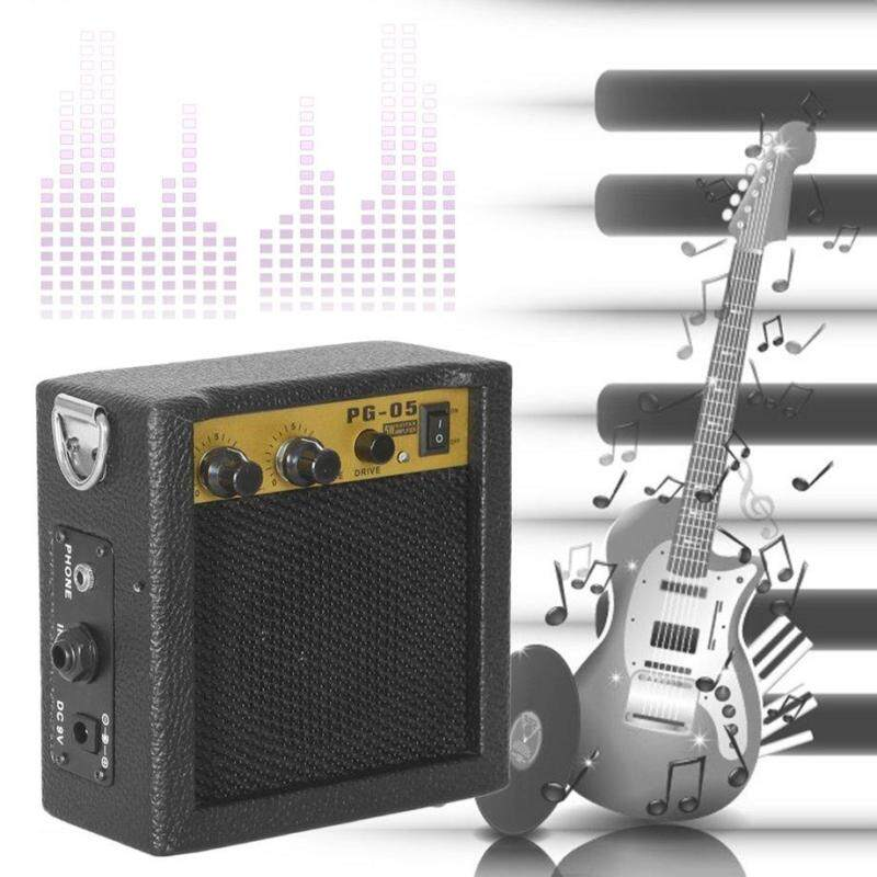 E-WAVE PG-05 5W Portable Guitar Amplifier Guitar Amp With 3 Inches Speaker