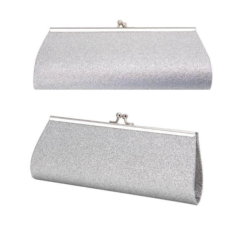 b4f5fe4aa7a Women Fashion Evening Clutch Bag Ladies Wedding Handbag Banquet Glitter  Purse - intl