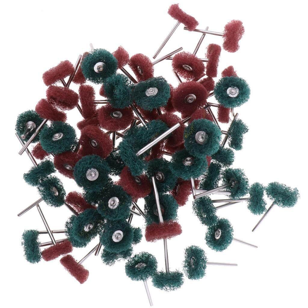Hình ảnh MagiDeal 80pcs Polisher Buffer Wheel Polishing Buffing Brush Kit For Rotary Drill Bit